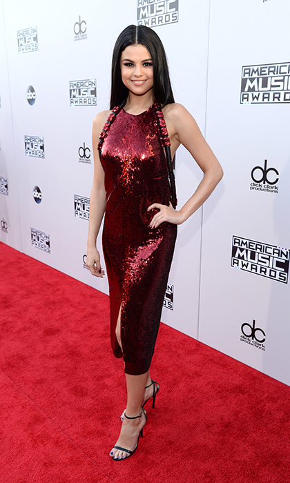 <p>Selena Gomez in Givenchy.</p>