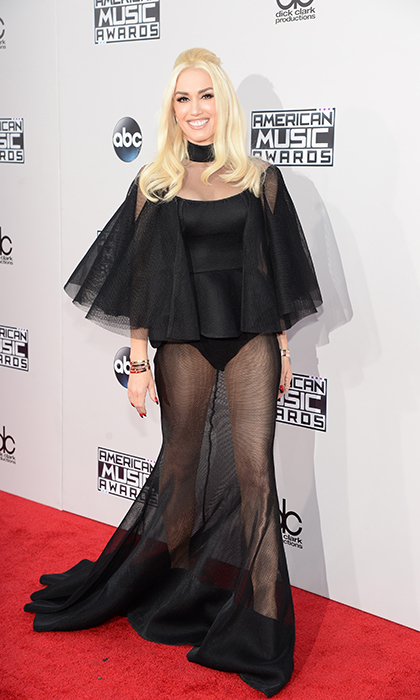 <p>Gwen Stefani in Yousef Al-Jasmi. </p>