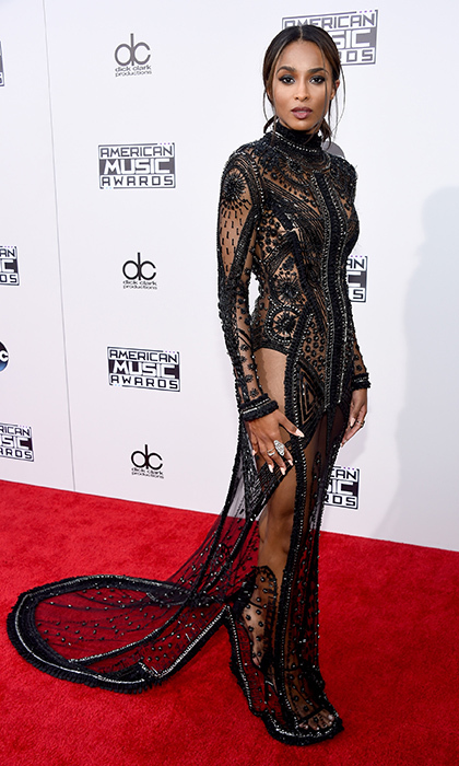 <p>Ciara in Reem Acra.</p>