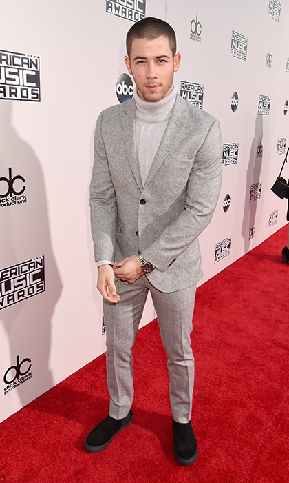 <p>Nick Jonas in Topman.</p>