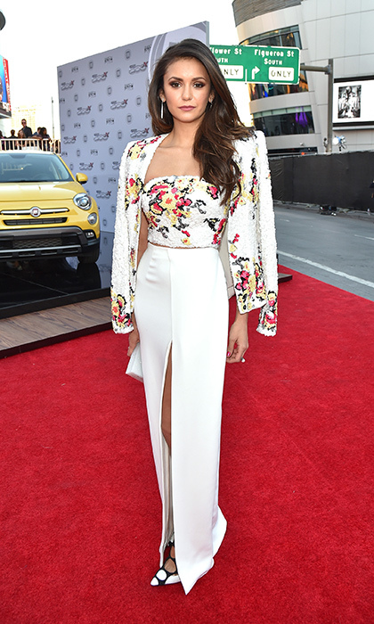 <p>Nina Dobrev in Zuhair Murad.</p>
