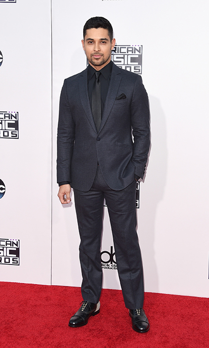 <p>Wilmer Valderrama in John Varvatos.</p> 