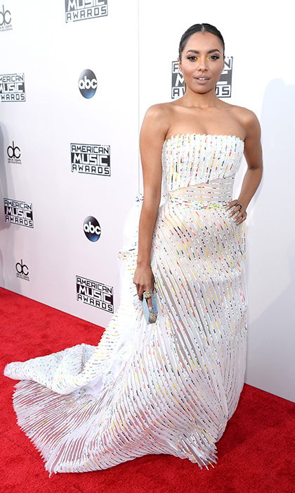 <p>Kat Graham in Georges Chakra.</p> 