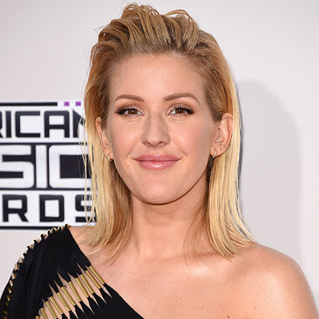 <p><b>Ellie Goulding</b> opted for one of the season's biggest hair trends – wet-look, slicked-back hair. The singer kept the rest of her make-up simple to keep the focus on her show-stopping mane.</p>
