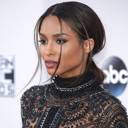 <p><b>Ciara</b> put a spin on a classic low chignon by wearing her hair in a low ponytail and tucking the length of her locks into an elastic for a faux-bun effect.</p>