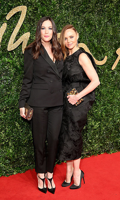 <p>Liv Tyler and Stella McCartney</p>