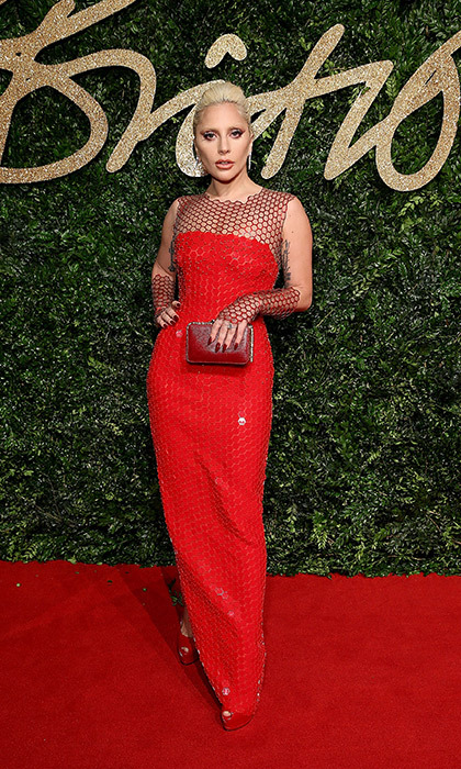<p>Lady Gaga in Tom Ford</p>