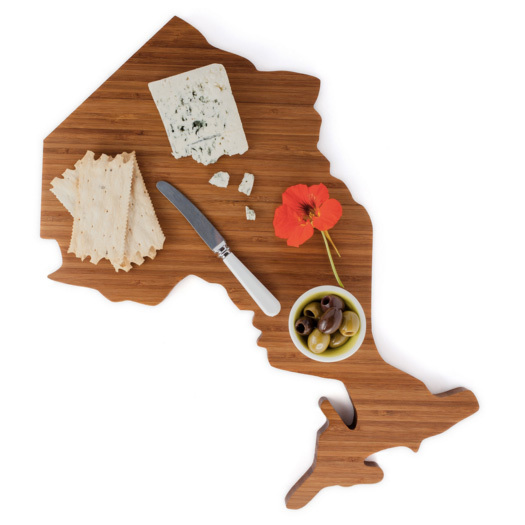 "<p>Love My Local Ontario Cutting Board, $84, <a href=""http://lovemylocal.ca/collections/frontpage/products/ontario"" target=""_blank"">lovemylocal.ca</a>.</p>