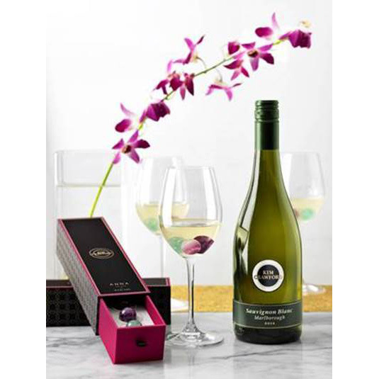 "<p>Kim Crawford Wine Gems by Anna New York, $76, <a href=""http://www.annanewyork.com/collections/tabletop/products/wine-gems-kim-crawford"" target=""_blank"">annanewyork.com</a>.</p>"