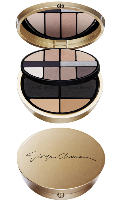 <p>Crafted to suit any complexion, this compact palette boasts 10 highly wearable eye shadows in black, brown, nudes and silver plus two shades of their cult-favourite cream foundation, a silky powder and applicators.</p>