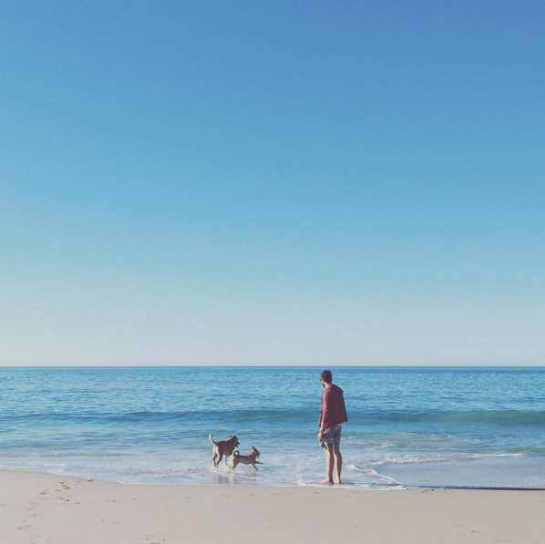 "Lauren Conrad posted a sweet picture of her husband William Tell and their two dogs. The former 'Hills' star simply captioned the snap, ""Thankful for my loved ones.""