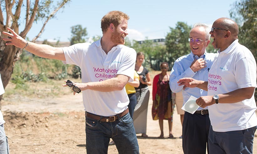 <p>Prince Harry has visited the region dozens of times since founding his charity, Sentebale, in 2006.</p> 
