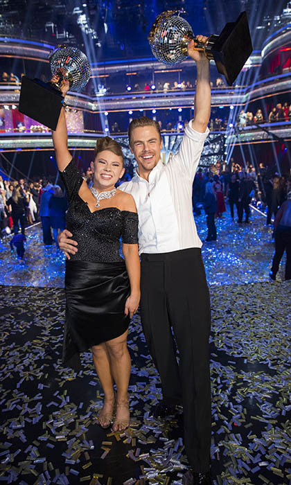 <p> The late Steve Irwin's beautiful daughter, Bindi, and her partner, Derek Hough, are crowned king and queen of the dance floor on the season finale of <em>Dancing With the Stars</em>.</p>