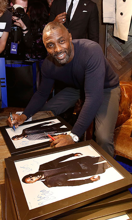 <p> <em>Luther</em> star Idris Elba adds fashion designer to his storied resumé with the launch of the 2015 Idris Elba + Superdry collection in London.</p>