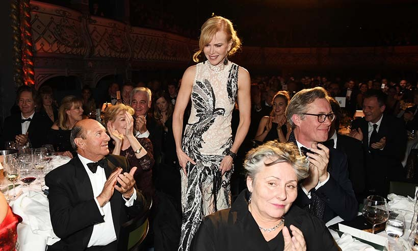 <p> Three cheers for Nicole Kidman, who took home the Natasha Richardson Award for Best Actress at the London Evening Standard Theatre Awards for her work in <em>Photograph 51</em>.</p>