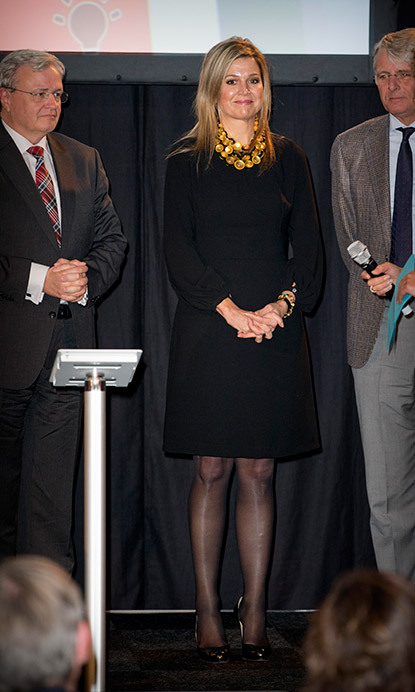 <p>Queen Maxima of the Netherlands.</p>