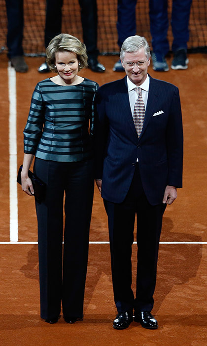 <p>Queen Mathilde of Belgium.</p>