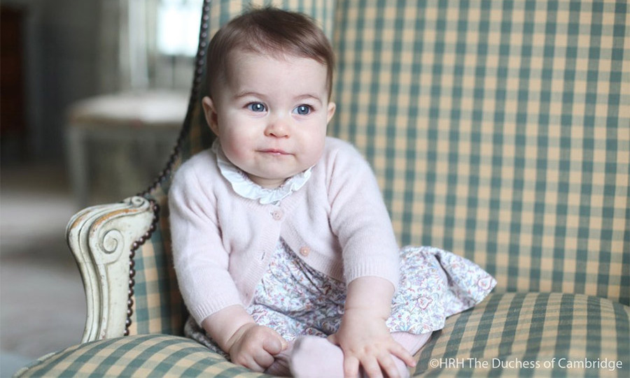 <p>Kensington Palace released two new photos of Princess Charlotte on Nov. 29.</p>
