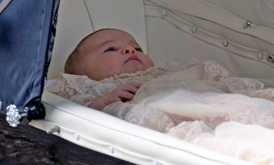 <p>Charlotte was christened on July 6.</p>