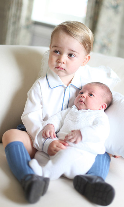 <p> This year, George and Charlotte will celebrate their first Christmas together.</p>
