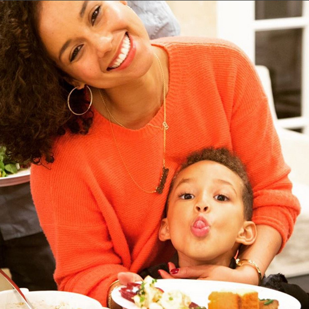 "<p>""Hope you had a beautiful day with people that fill your soul. Our Brother Dre said ,""I'm grateful for the journey not the destination"" May life continue to teach us, love us and grow us!"" wrote Alicia Keys, who celebrated the holiday with her son, Egypt. </p>