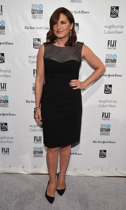 Mariska Hargitay.
