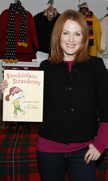 7. She's written three children's books about the adventures of Freckleface Strawberry. The first book has been adapted into a musical.