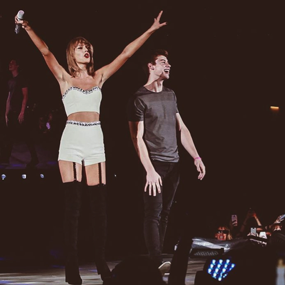 Shawn Mendes: Coolest birthday ever. Taylor brought me up onstage and had a crowd of 60,000 people sing Happy Birthday to me. So lucky to be on tour with someone so incredibly kind. You rock Taylor. Thank you so much! ❤️