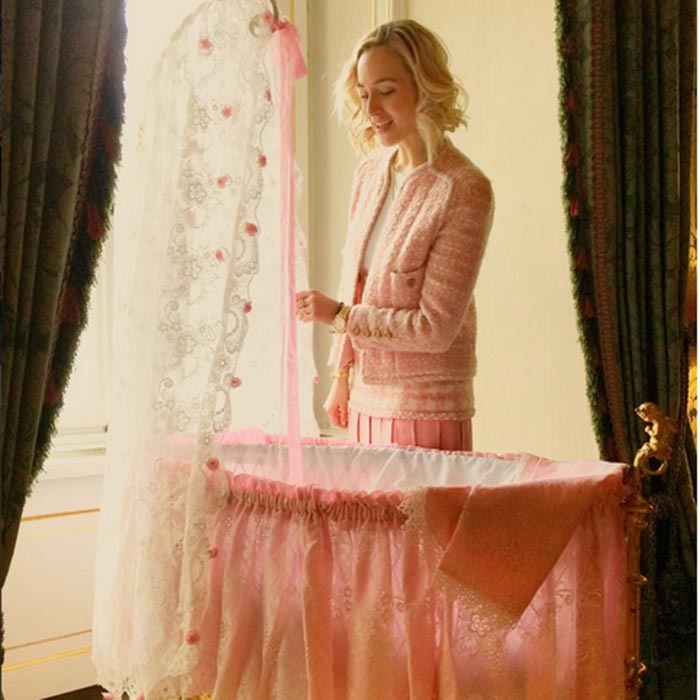 "<p>Elisabeth von Thurn und Taxis keeps a loving eye on her niece. The German journalist shared the precious snap on Instagram, writing, ""A girl's dream! My niece needs it all in pink. Can you blame me for trying to match by sneaking some vintage @chanelofficial from my mum's closet! #happiestauntie #lovemynewniece.""</p>