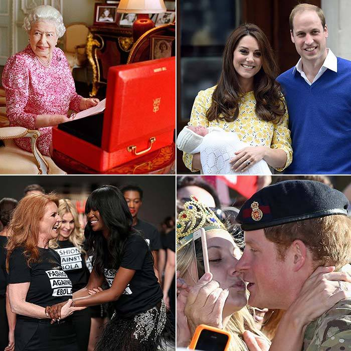 With the birth of Princess Charlotte and the Queen making history as the longest-reigning monarch, this year has certainly been one to remember for the royals.
