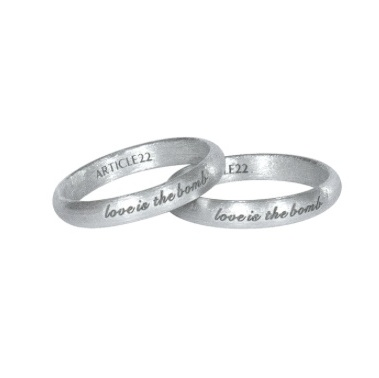 "<p>Article 22 Love is the Bomb diamond ring set, $195,<a target=""_blank"" href=""https://article22.com/shop/love-is-the-bomb-ring-set/""> article22.com</a>.</p>