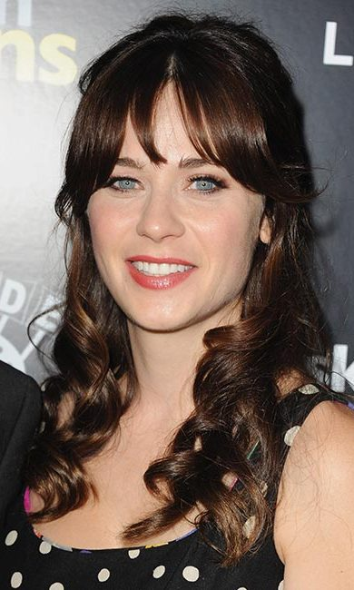 <strong>Zooey Deschanel</strong><br>