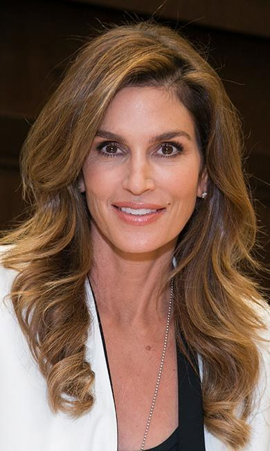 <strong>Cindy Crawford</strong><br>