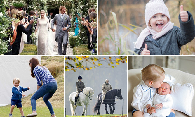 What a year it's been for royal families around the world. From Prince George's spontaneous jig to the Queen saddling up to weddings and christenings galore, 2015 was full of love, laughter and plenty of fun off-duty moments for a group that's usually hard at work. Here, <i>Hello!</i> rounds up the best candid snaps of the year.