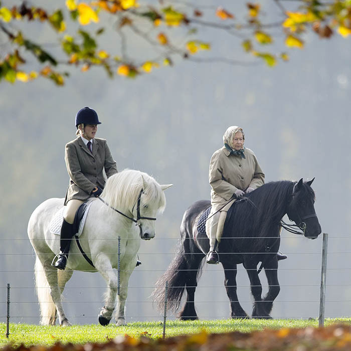 <p>The Queen showed that even as she nears 90 years of age, her passion for riding is as strong as ever. The monarch was often spotted taking leisurely rides along the River Thames near Windsor Castle.</p>