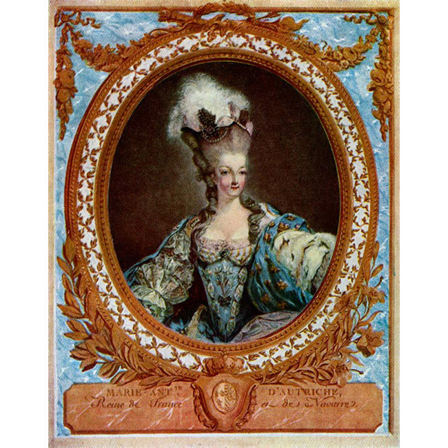 <strong>Queen Marie Antoinette</strong><br>