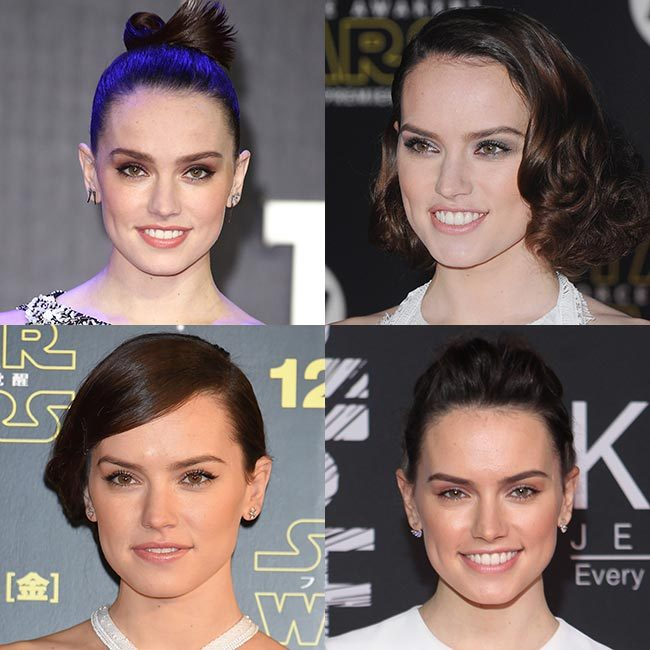Rising star <strong>Daisy Ridley</strong> has burst onto the big screen as the leading lady in <em>Star Wars: The Force Awakens</em>, but it's not just her incredible performance that has turned heads. The British actress has already become one of our major beauty crushes, turning heads with gorgeous hair and make up looks.