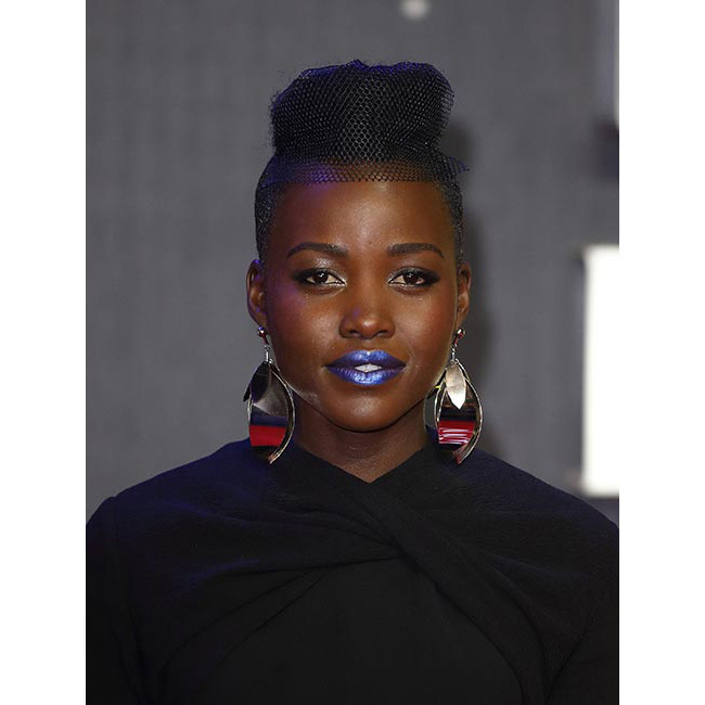 <strong>Lupita Nyong'o</strong> made quite the impression at the <em>Star Wars: The Force Awakens</em> premiere in London, turning heads with a bold and edgy metallic blue lipstick. Thinking of trying the look yourself? Take note from the actress and keep the rest of your make-up simple – your lips alone will make the ultimate beauty statement.<br>