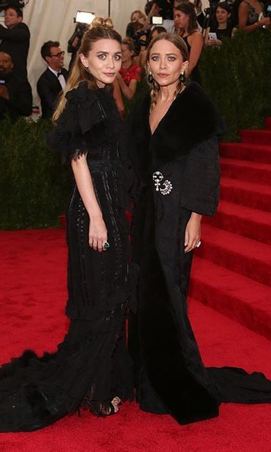 <p><b>Mary Kate and Ashley Olsen</b>