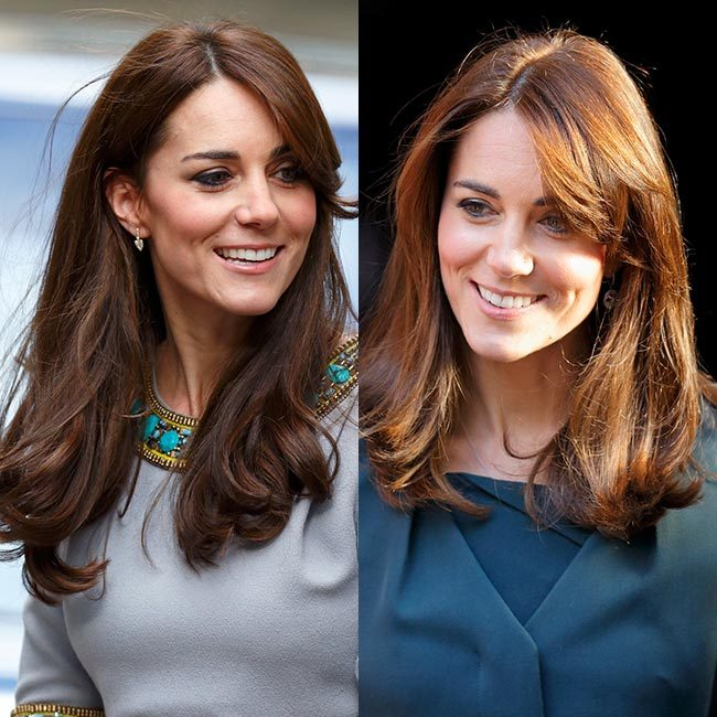 <b>The Duchess of Cambridge's shoulder-length style</b>