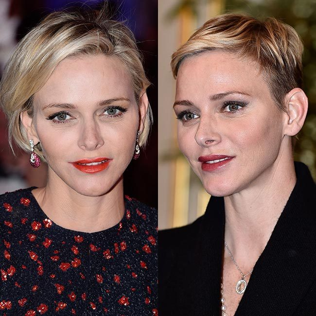 <b>Princess Charlene of Monaco's pixie cut</b>