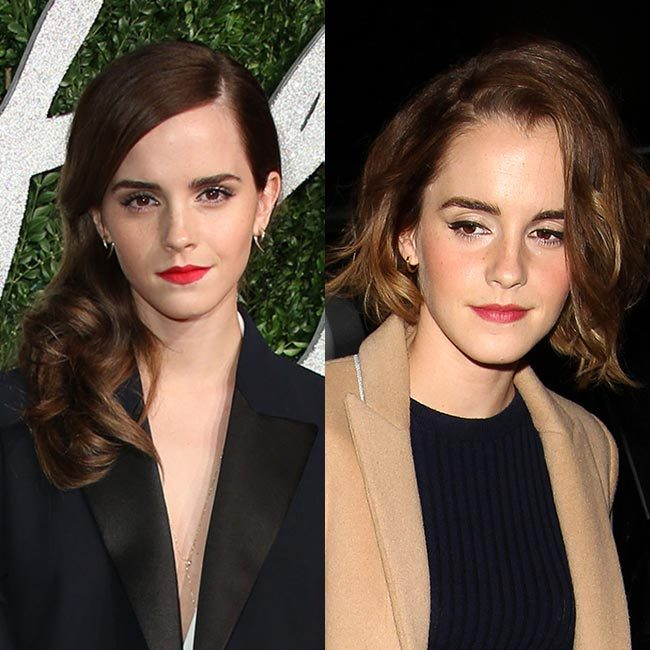 <b>Emma Watson joining the bob brigade</b>