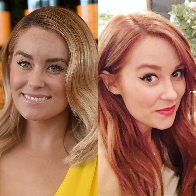 <b>Lauren Conrad becoming a redhead</b>
