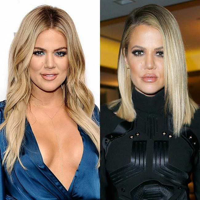 <b>Khloé Kardashian going for the chop</b>
