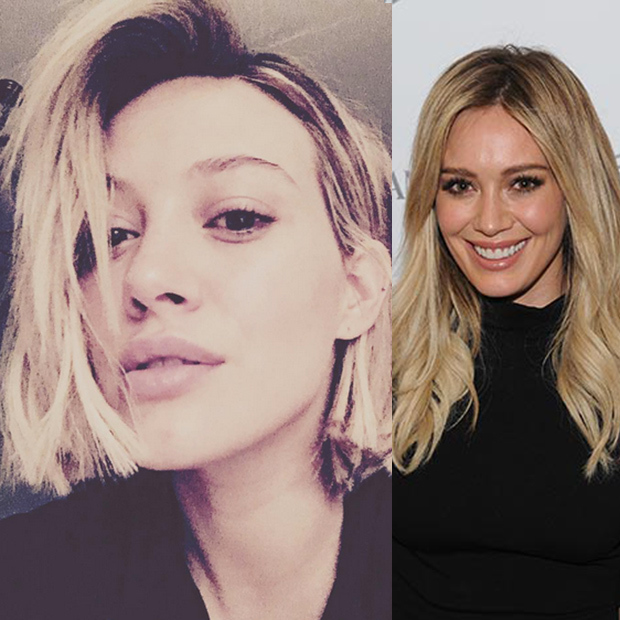 <b>Hilary Duff's Christmas chop</b>