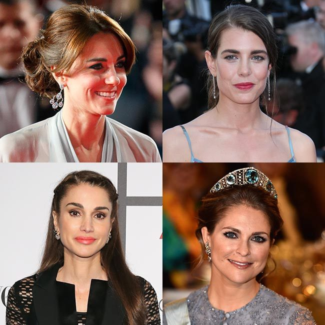 From the Kate's glamorous style at the <em>Spectre</em> premiere to Charlotte Casiraghi's statement lipstick at the Cannes Film Festival, we take a look at the best royal beauty looks of 2015!