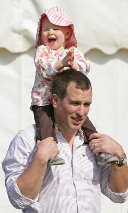 The Queen's eldest grandchild, Peter Phillips, was the first of her eight grandchildren to marry and have children. Now the monarch has five great-grandchildren, including the latest arrival, Princess Charlotte. 