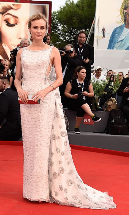 Diane Kruger in Prada at the Venice Film Festival.
