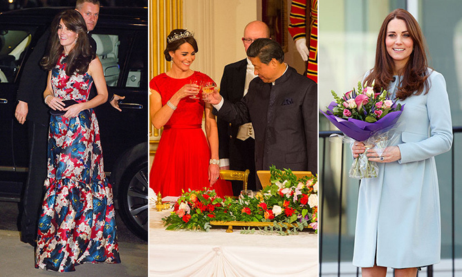 The Duchess of Cambridge had a busy year of engagements in 2015, which gave her ample opportunity to show off her inimitable style sense. From chic maternity wear to bold and beautiful ball gowns, the mother of two continued to mix old faithfuls with new pieces from her wardrobe.