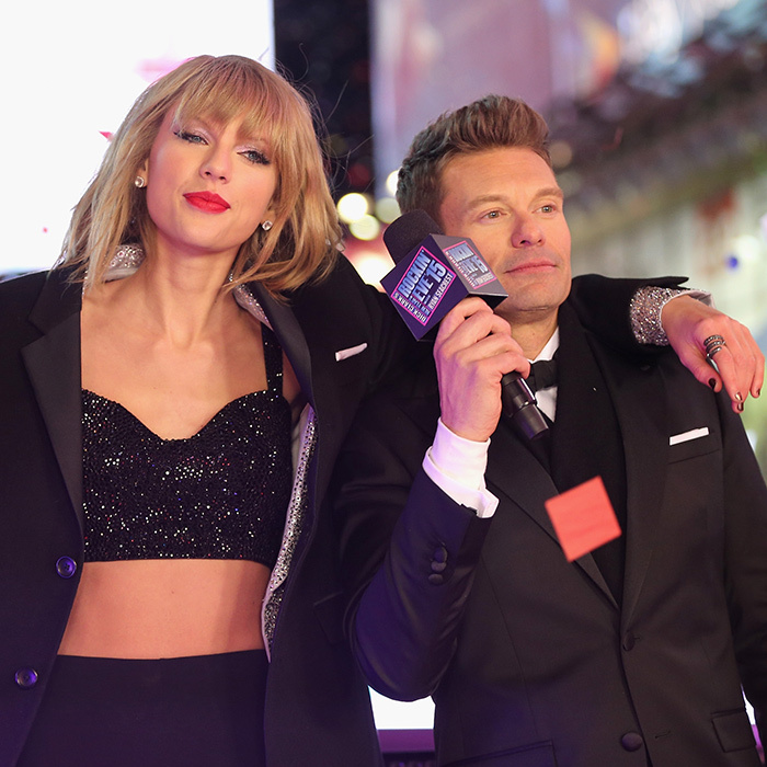 """Shake It Off"" singer Taylor Swift capped off her huge year with a performance on <em>Dick Clark's New Year's Rockin' Eve with Ryan Seacrest</em>. 